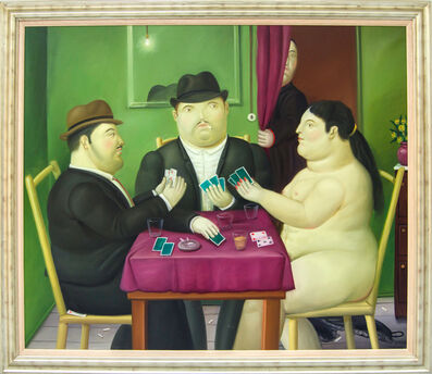 Fernando Botero, 'Card Players', 1991