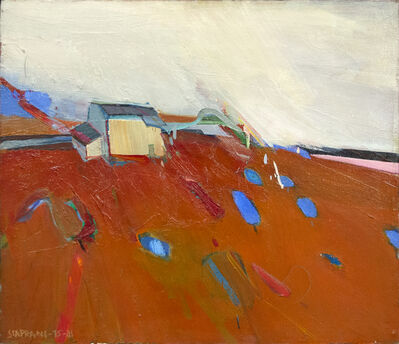 Raimonds Staprans, 'House in a Red Landscape', 1981