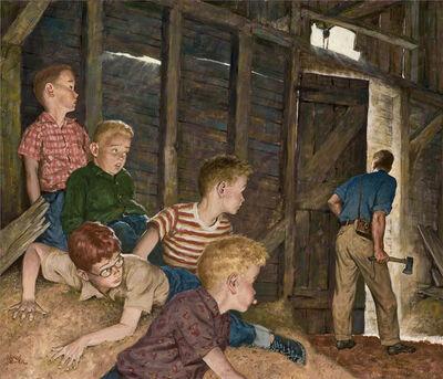 Amos Sewell, 'The Hatchet', ca. 1950
