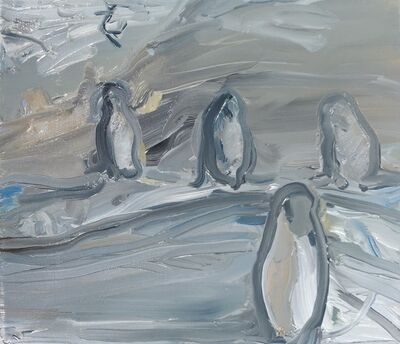Rudy Cremonini, 'Penguins', 2018