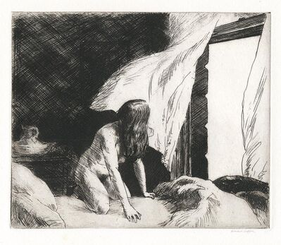 Edward Hopper, 'Evening Wind.', 1921