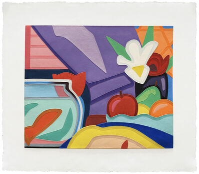 Tom Wesselmann, 'Still Life with Blonde and Goldfish', 2000