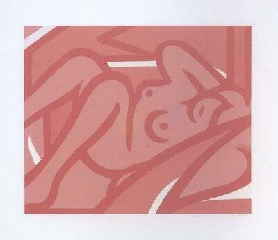 Tom Wesselmann, 'Blue Nude (Pink)', 2000