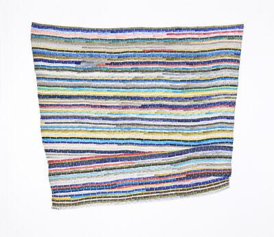 Carly Glovinski, 'The Second Blue Multi Rag Rug', 2017