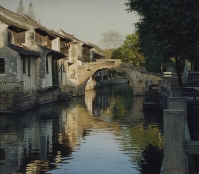 Yihua Wang, 'Morning, Ancient Town', 2009