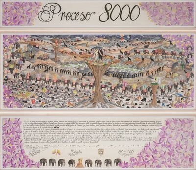 Jorge Julian Aristizabal, 'Proceso 8000', 2015