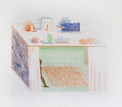 David Hockney, 'In A Chiaroscuro', 1977