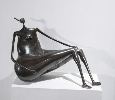 Abigail Varela, 'Estudio, En las nubes II', 1998