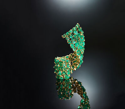 Isaac Levy, 'Emerald Allure Bracelet', 2019