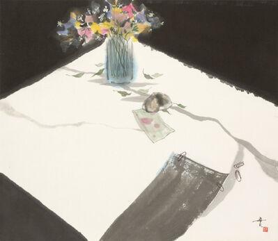 Minol Araki, 'Desk with Flowers (MA-293)', 1977