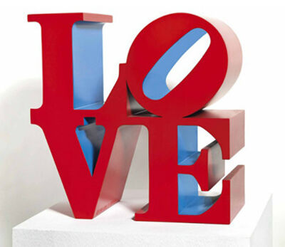 Robert Indiana, 'LOVE Red Outside Blue Inside', 1966-1995