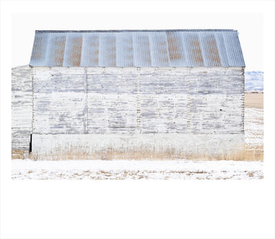 Wendel Wirth, 'White Barn II', 2018