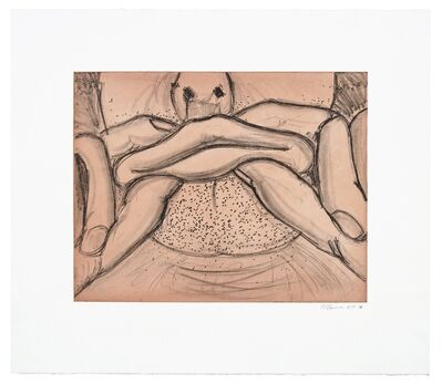 Bruce Nauman, 'Soft Ground Etching - Coral', 2007