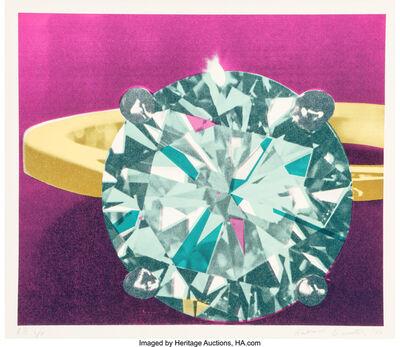 Richard Bernstein, 'Diamond Ring', 1977