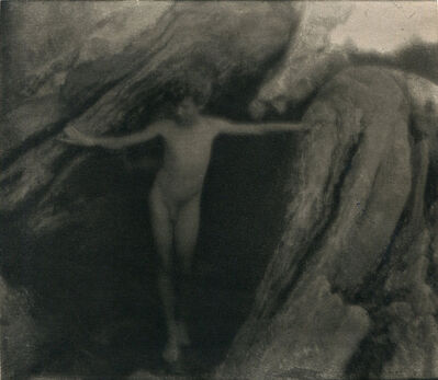 "Clarence H. White, 'Nude (from ""Camera Work"") [Coast of Maine, near Bath]', 1908"