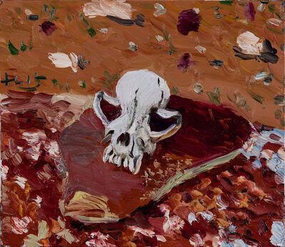 Liu Xiaodong, 'Dog Skull', 2015