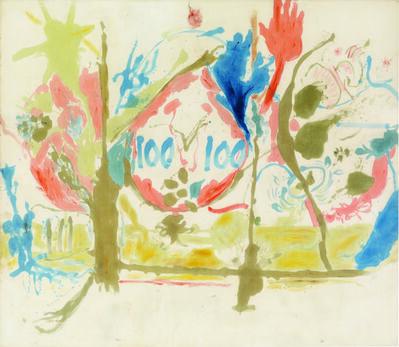 Helen Frankenthaler, 'Eden', 1956