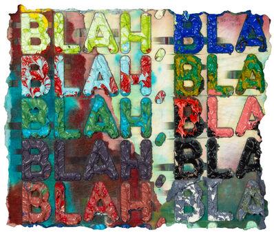 Mel Bochner, 'Blah Blah Blah', 2010