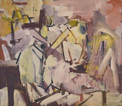Dennis Creffield, 'Figures in a landscape', ca. 1963