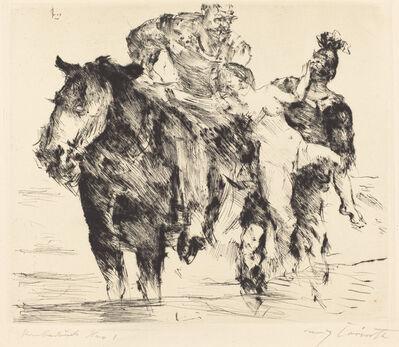 Lovis Corinth, 'Rape (Frauenräuber)', 1920