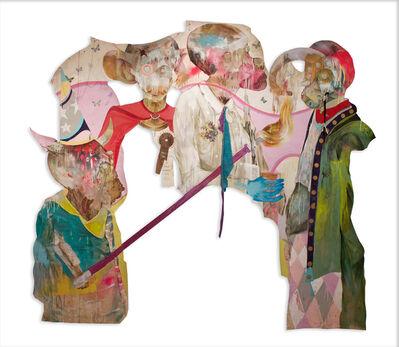 Lavar Munroe, 'Never Again Human : Conversation with Four', 2016-2017