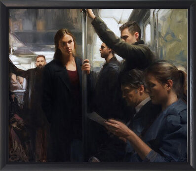 Nick Alm, 'In The Metro', 2016