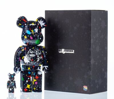 BE@RBRICK X Billionaire Boys Club, 'Starfield 400% and 100% (two works)', 2017