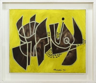 Mattia Moreni, 'Costruzione N.1', 1951