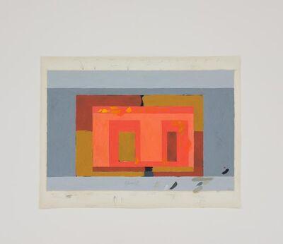 Mauro Piva, 'Homenagem (Teste de cores J. Albers) XI', 2016