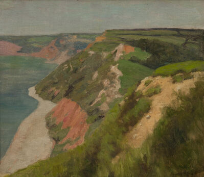 Henry Snell, 'Cornwall Coast', ca. 1900