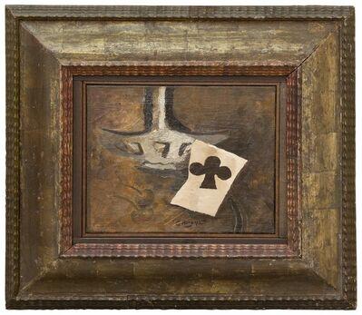 Georges Braque, 'Carafe et as de trèfle', 1950