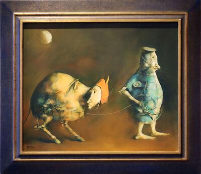 Georges Mazilu, 'Promenade vesperale', 2013