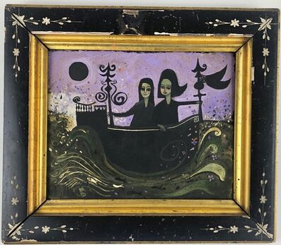 Henry Faulkner, 'Two Women Sailing Under Moonlight', 1960-1981