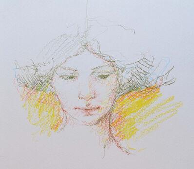 Jose Royo, 'Sketch (Yellow)', 21st Century