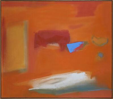 Esteban Vicente, 'Focal point', 1987