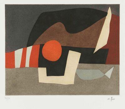 Afro (Afro Basaldella), 'L'invitation au voyage', ca 1975