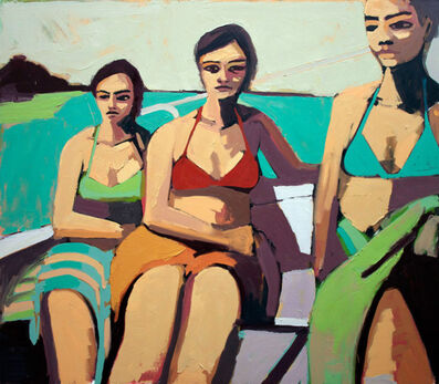 Patrick Puckett, 'Women on a Sailboat', 2013