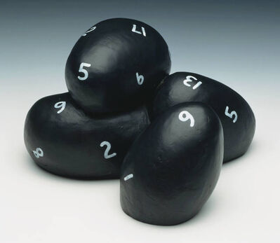 Jonathan Borofsky, 'Bronze Casting with Numbers', 1991