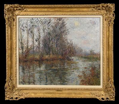Gustave Loiseau, 'Tournant de rivière, L'Eure', 1926