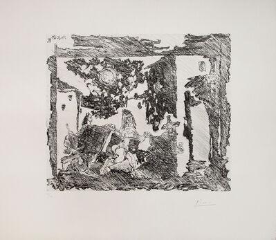 Pablo Picasso, 'Mise en Scène de la Célestine: Le gentilhomme est entraîné vers le bouge', 1968
