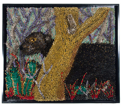 Federico Uribe, 'Black Panther Prowling', 2017