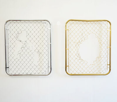 Paul Amundarain, 'Broken Grid I & II', 2015