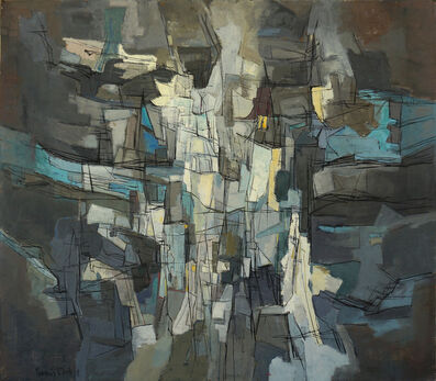 Francis Bott, 'Composition', 1955