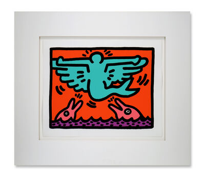 Keith Haring, 'Pop Shop V', 1989