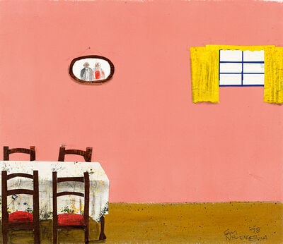 Sam Nhlengethwa, 'Interiors, two'