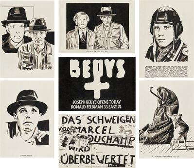 Fernando Bryce, 'Beuys', 2020