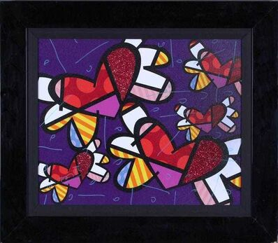 Romero Britto, 'Love is in the Air Too', 2011