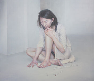JIYUN CHEON, 'Nailed Y', 2012