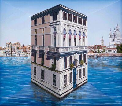Patrick Hughes, 'Little Palace', 2021