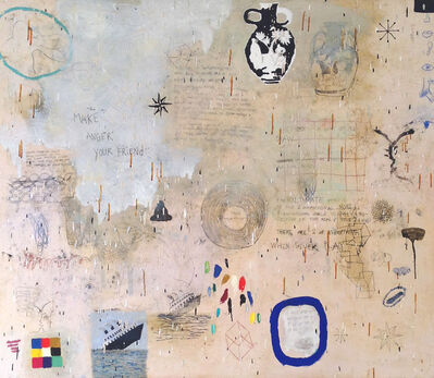 Squeak Carnwath, 'Two of Everything', 2014